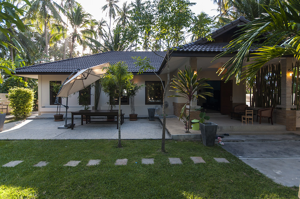 2 Bedroom House With Swimming Pool For Rent In Maenam
