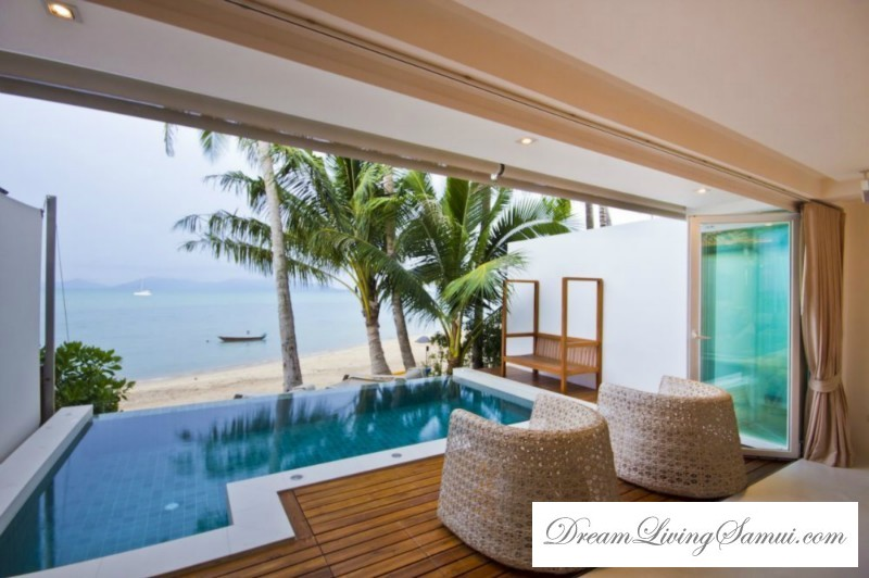 Luxury 2 Bedroom Beachfront Apartments With Private Pool