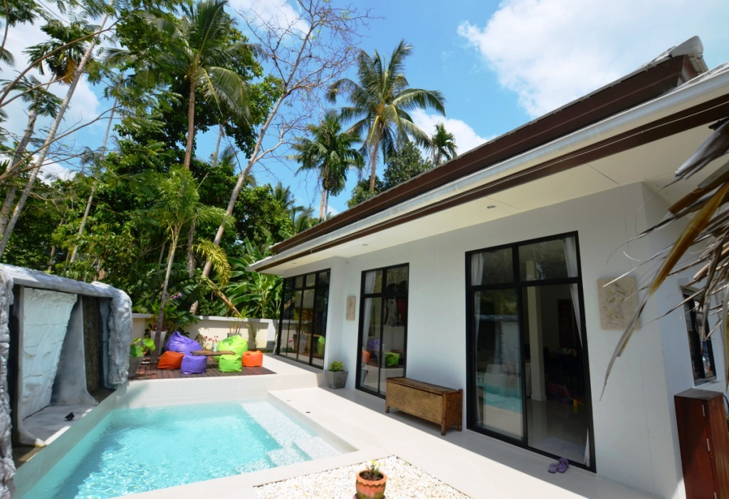 kho samui for rent house swimming pool. MAE1458  KOH SAMUI new house for rent in maenam  swimming pool