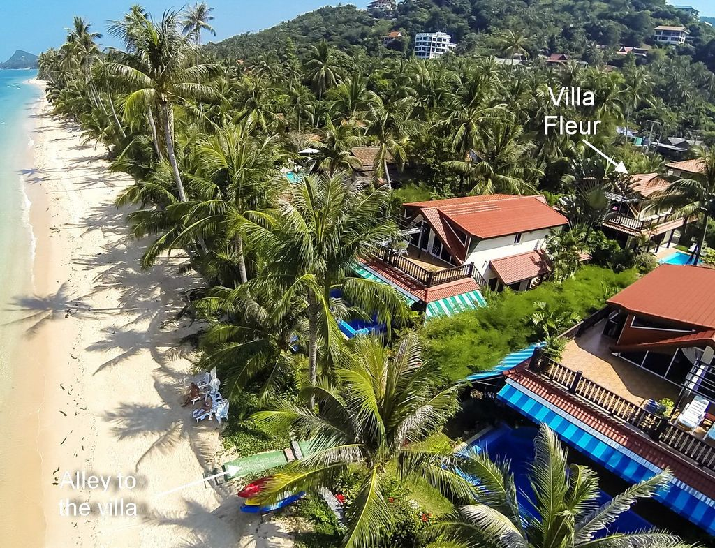 BAP1557: Luxury Beachfront Resort Villa with Private Pool at 20m ...