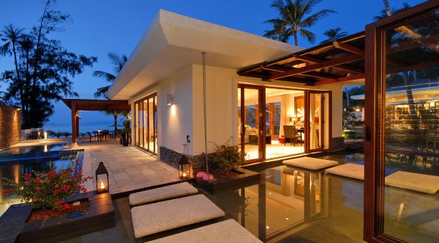 Дом в остров Элья на побережье